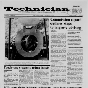 Technician, Vol. 69 No. 25, October 23, 1987