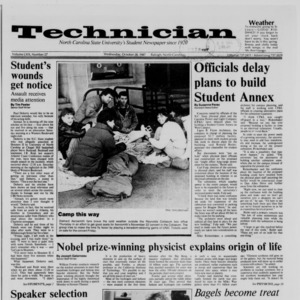 Technician, Vol. 69 No. 27, October 28, 1987