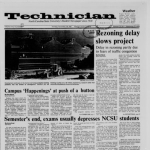 Technician, Vol. 69 No. 28 [39], November 30, 1987