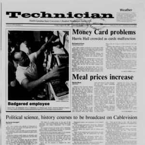 Technician, Vol. 69 No. 3, August 28, 1987