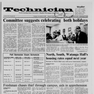 Technician, Vol. 69 No. 38, November 23, 1987