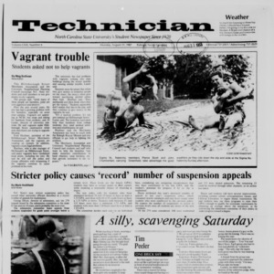Technician, Vol. 69 No. 4, August 31, 1987