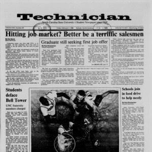 Technician, Vol. 69 No. 49 [48], February 1, 1988