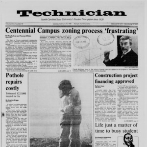 Technician, Vol. 69 No. 55, February 15, 1988