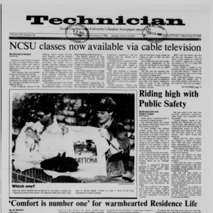 Technician, Vol. 69 No. 56, February 17, 1988
