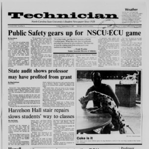Technician, Vol. 69 No. 6, September 4, 1987