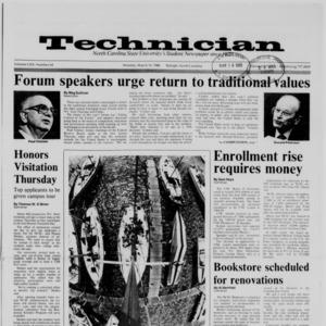 Technician, Vol. 69 No. 64, March 14, 1988
