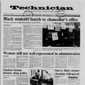Technician, Vol. 69 No. 66, March 18, 1988