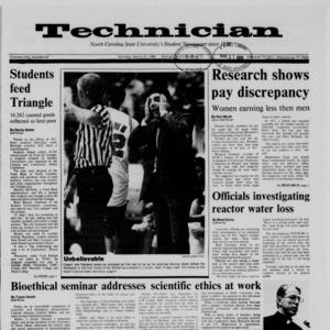 Technician, Vol. 69 No. 67, March 21, 1988