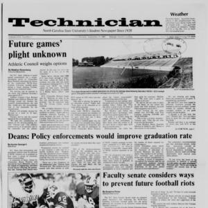 Technician, Vol. 69 No. 7, September 9, 1987