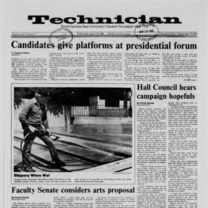 Technician, Vol. 69 No. 71, March 30, 1988