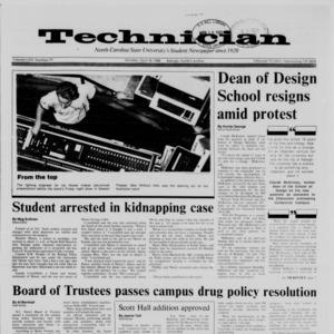 Technician, Vol. 69 No. 77 [78], April 18, 1988