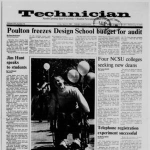 Technician, Vol. 69 No. 79 [80], April 22, 1988