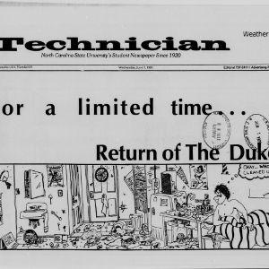 Technician, Vol. 69 No. 81 [82], June 1, 1988