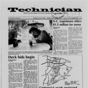 Technician, Vol. 69 No. 86 [87], July 13, 1988