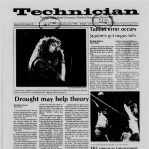 Technician, Vol. 69 No. 88 [89], July 27, 1988