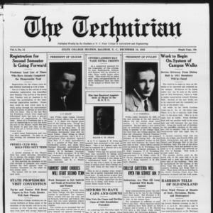 Technician, Vol. 6 No. 15, December 18, 1925