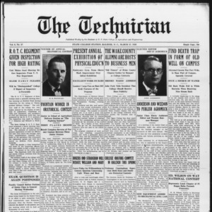 Technician, Vol. 6 No. 27, March 27, 1926