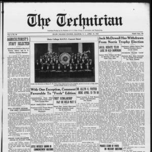 Technician, Vol. 6 No. 29, April 10, 1926