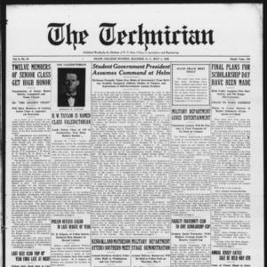 Technician, Vol. 6 No. 32, May 1, 1926