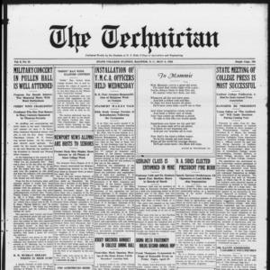 Technician, Vol. 6 No. 33, May 8, 1926
