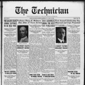 Technician, Vol. 6 No. 34, May 15, 1926