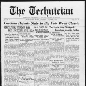 Technician, Vol. 6 No. 6, October 16, 1925