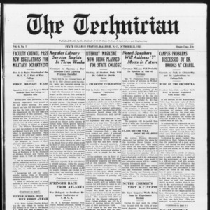 Technician, Vol. 6 No. 7, October 23, 1925