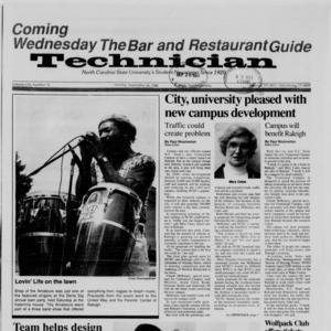 Technician, Vol. 70 No. 12, September 26, 1988