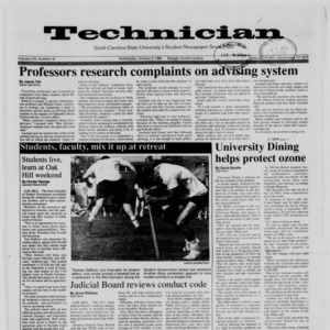 Technician, Vol. 70 No. 16, October 5, 1988