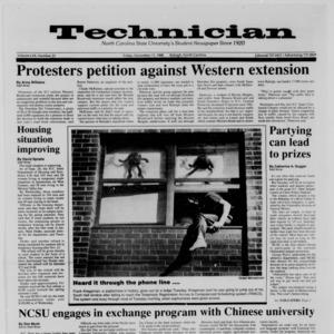 Technician, Vol. 70 No. 31, November 11, 1988