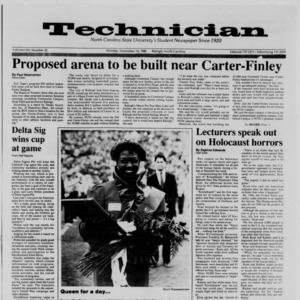 Technician, Vol. 70 No. 32, November 14, 1988