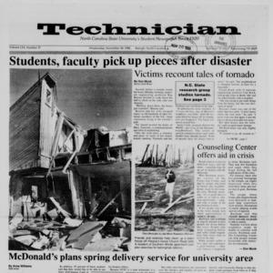 Technician, Vol. 70 No. 37, November 30, 1988