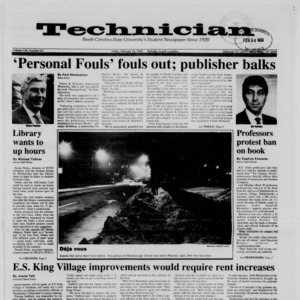 Technician, Vol. 70 No. 62, February 24, 1989