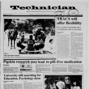 Technician, Vol. 70 No. 7, September 14, 1988