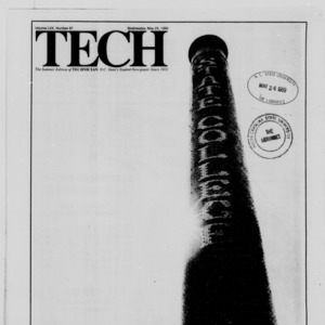 Technician, Vol. 70 No. 87 [82], May 24, 1989