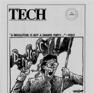 Technician, Vol. 70 No. 88 [83], May 31, 1989