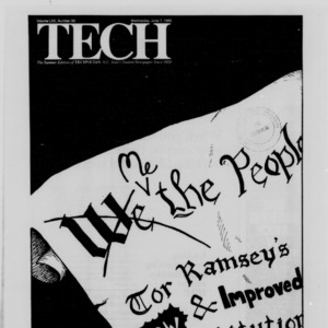 Technician, Vol. 70 No. 88 [84], June 7, 1989