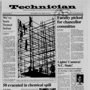 Technician, Vol. 71 No. 10, September 15, 1989