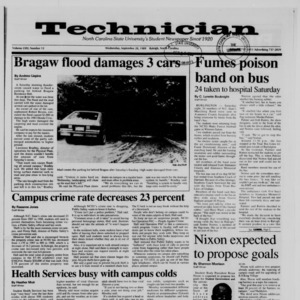Technician, Vol. 71 No. 12, September 20, 1989