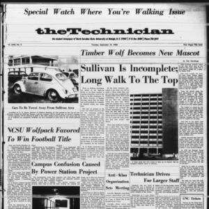 Technician, Vol. 71 No. 2 [Vol. 47 No. 1], September 13, 1966