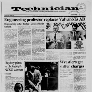 Technician, Vol. 71 No. 22, October 13, 1989