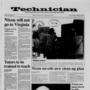 Technician, Vol. 71 No. 23, October 18, 1989