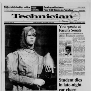 Technician, Vol. 71 No. 38, November 27, 1989