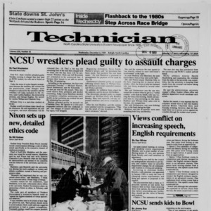Technician, Vol. 71 No. 42, December 6, 1989
