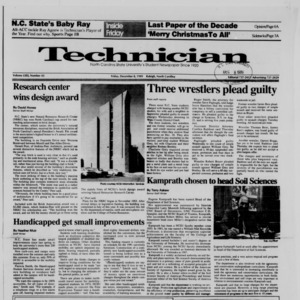 Technician, Vol. 71 No. 43, December 8, 1989