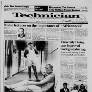Technician, Vol. 71 No. 83, April 16, 1990