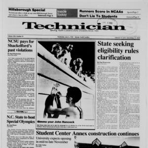 Technician, Vol. 71 No. 91, June 6, 1990