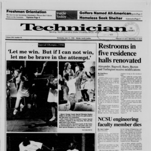 Technician, Vol. 71 No. 92, June 13, 1990
