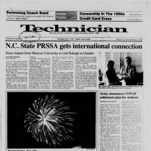 Technician, Vol. 71 No. 92 [94], July 11, 1990